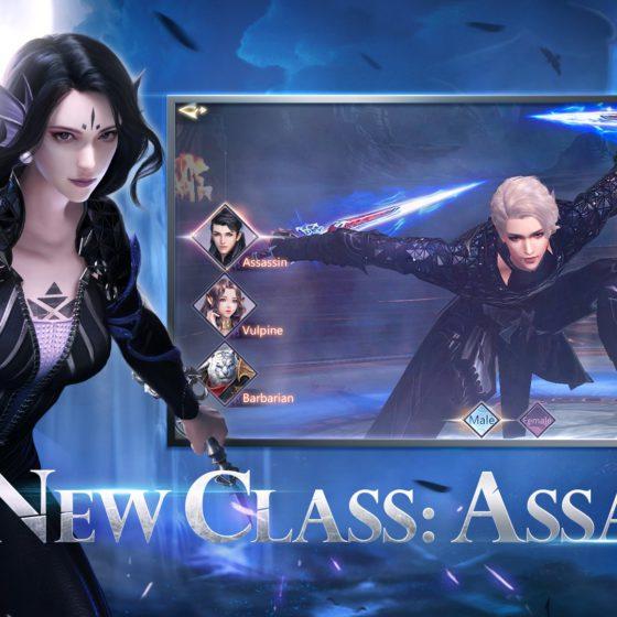 Подробности обновления и новый класс «Ассасин»
